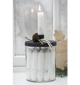 IBLaursen Adventscandles with glass holder