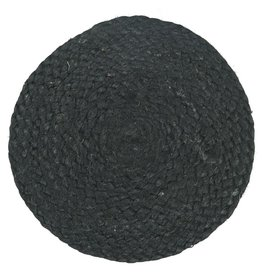 IBLaursen Trivet round black jute
