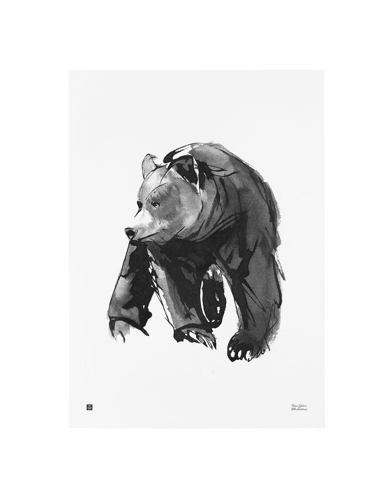 """Teemu Jarvi poster """"Bear"""" Teemu Jarvi"""