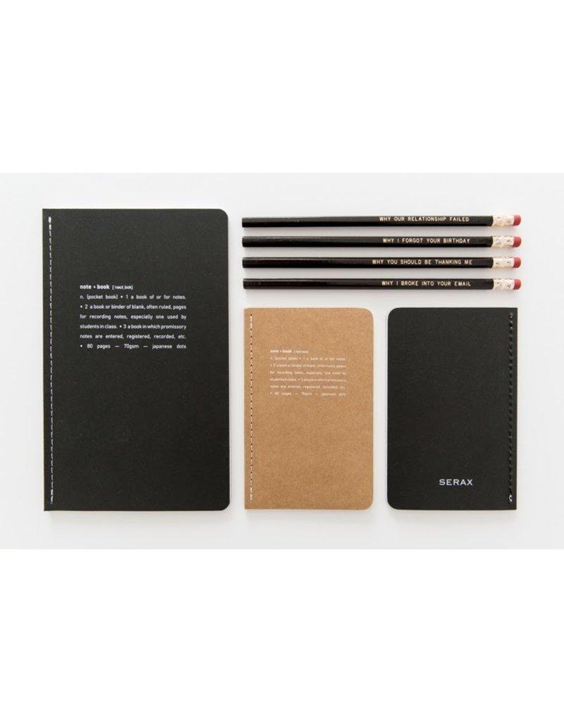 Serax Notebook - Set of 2