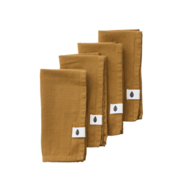 Bungalow Napkins 'Pecan' - Set of 4
