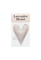 Terrible Twins lavender heart linen