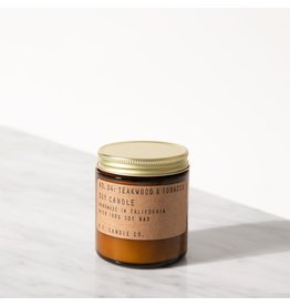 P.F. Candle & Co No. 4 Teakwood & Tobacco Mini Candle