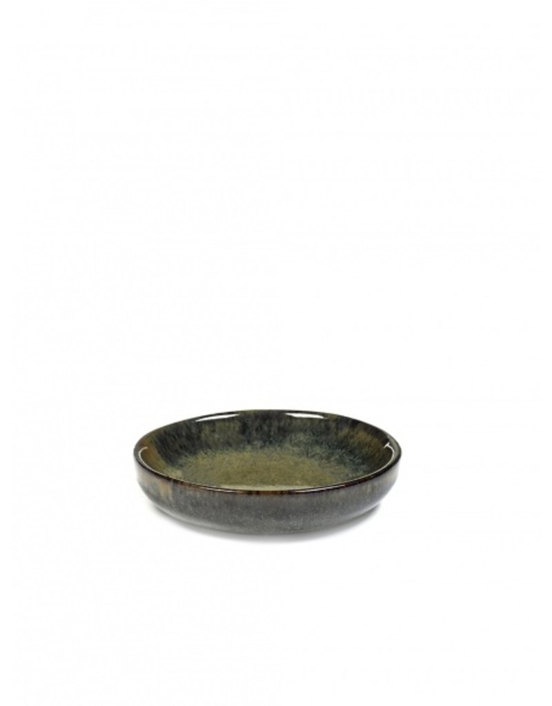 Serax 'Surface' Olive Plate