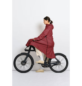 Maium Recycled raincoat red