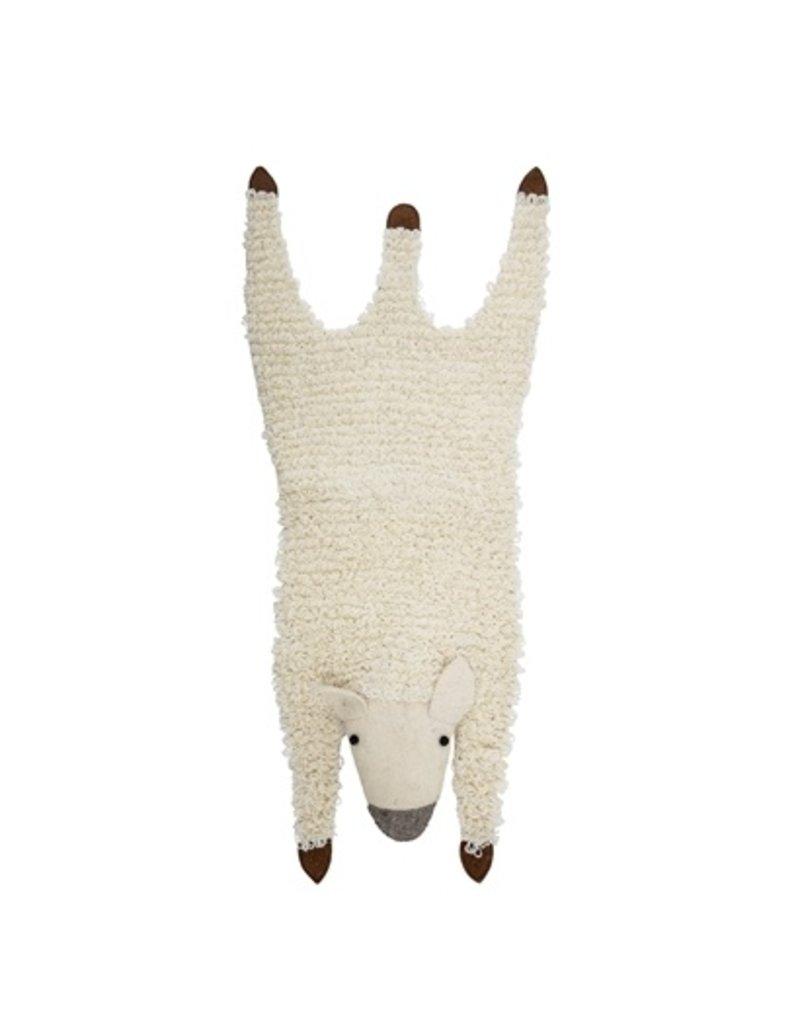 Bloomingville rug sheep wool