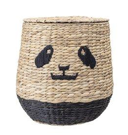 Bloomingville Storagebasket with lid panda
