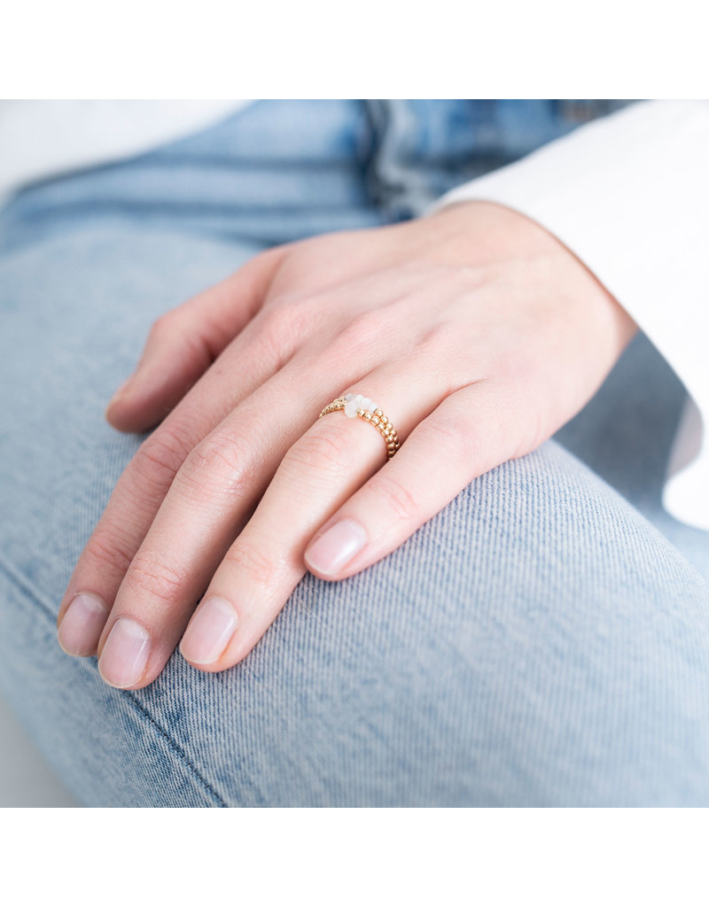 A Beautiful Story Ring 'Moonstone'