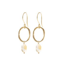 A Beautiful Story Earrings Graceful 'Citrine'