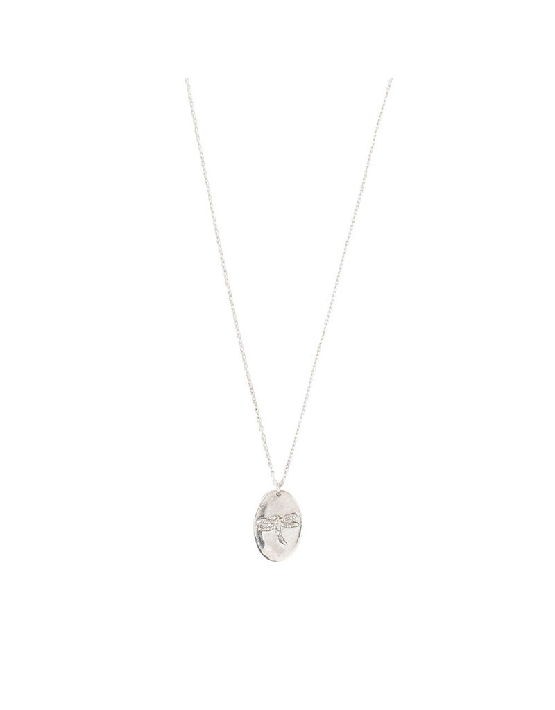 A Beautiful Story Necklace 'Dragonfly' Silver
