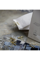 Monograph Clips - Brass