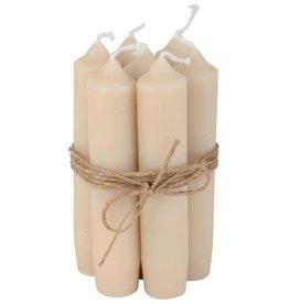 IBLaursen set korte kaarsen Zand