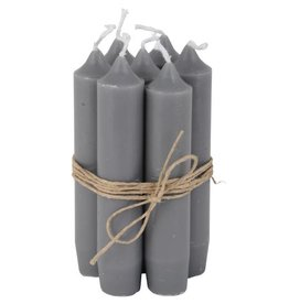 IBLaursen set short candles dark grey