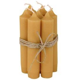 IBLaursen set of short candles ochre