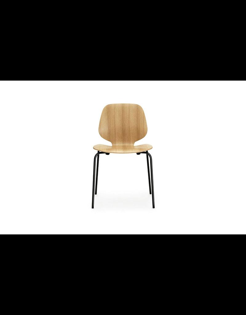 Normann Copenhagen Chair 'My Chair Black Steel & Oak'