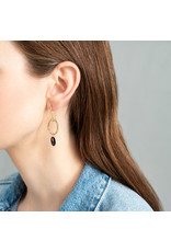 A Beautiful Story Earrings Graceful 'Garnet'