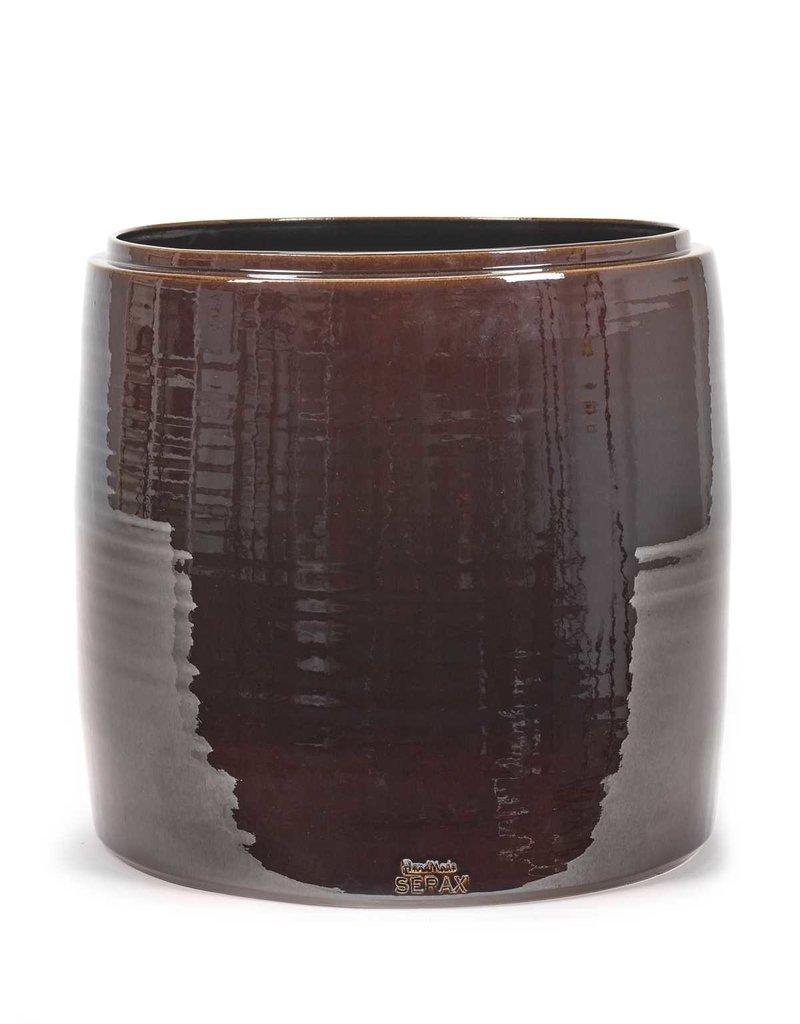 Serax Flower Pot Brown - L
