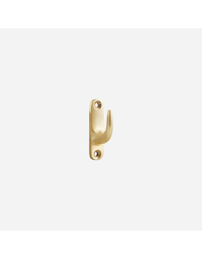House Doctor Hook Brass - Set of 2