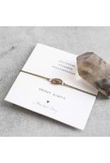 A Beautiful Story Bracelet - Smokey Quartz