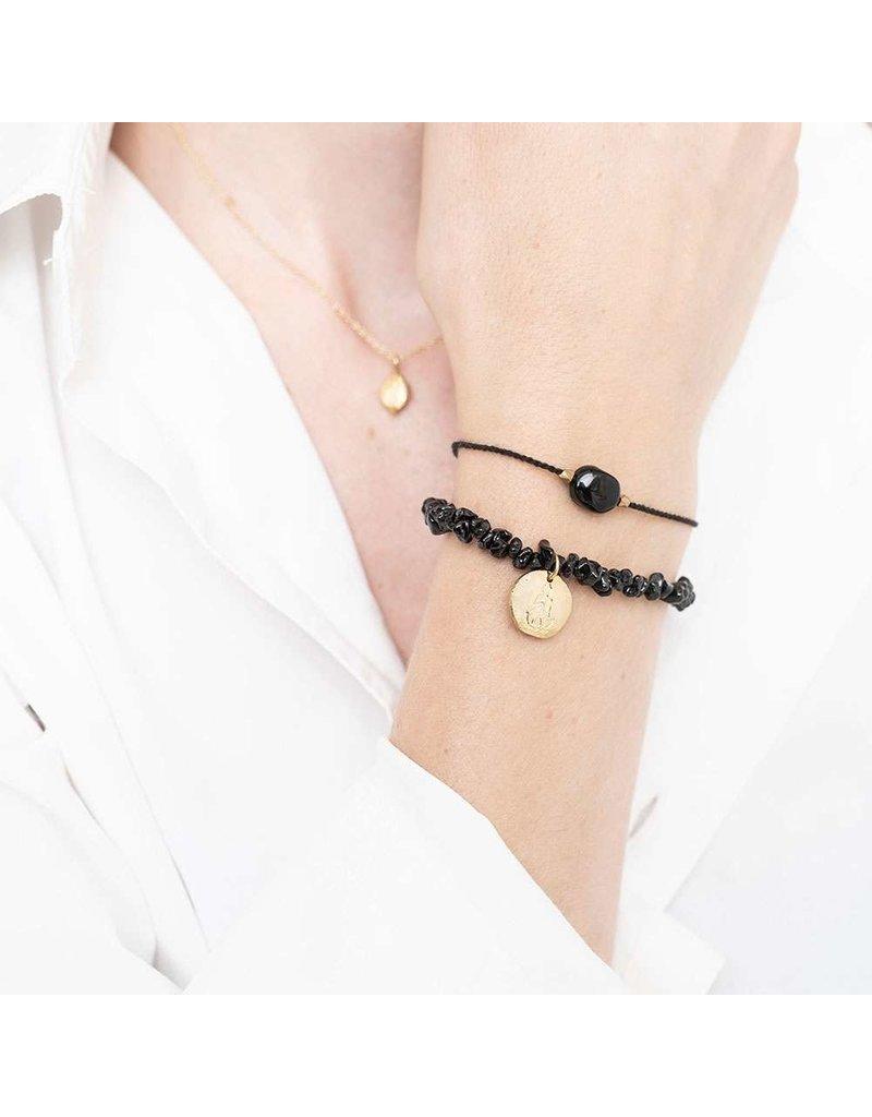 A Beautiful Story Armband - Black Onyx