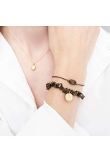 A Beautiful Story Armband - Tiger Eye