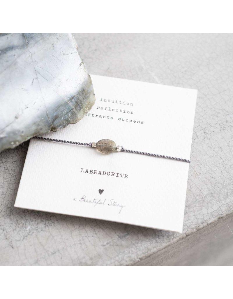 A Beautiful Story Armband - Labradorite