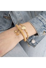A Beautiful Story Bracelet 'Jacky' - Citrine