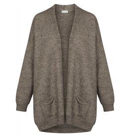 GAI+LISVA Knit 'Charlotte' - Stone Grey Melange