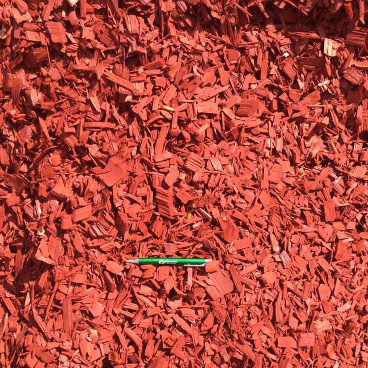 Eurocompost garden products Colored Chips Rood Los Geleverd