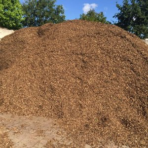 Eurocompost garden products Natuur Chips 12/25 in Big bag 1m³