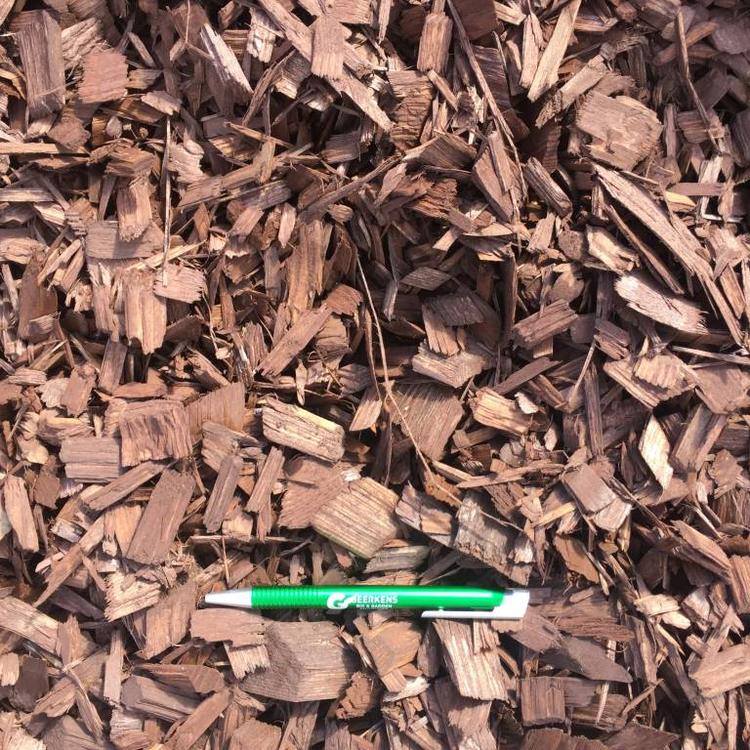 Eurocompost garden products Colored Chips Bruin in Big bag 1m³