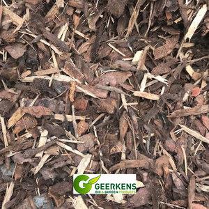 Eurocompost garden products Naaldhoutschors  25/40 in Big bag 1m³
