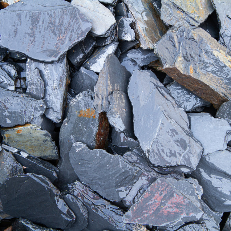 Eurocompost Garden Products Canadian Slate Naturae 60/160 per ton