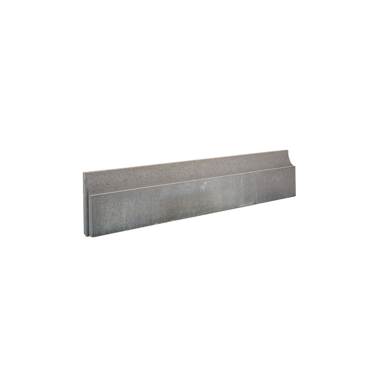 COECK COECK Boordsteen fijne bovenzijde 100x20x6cm grijs