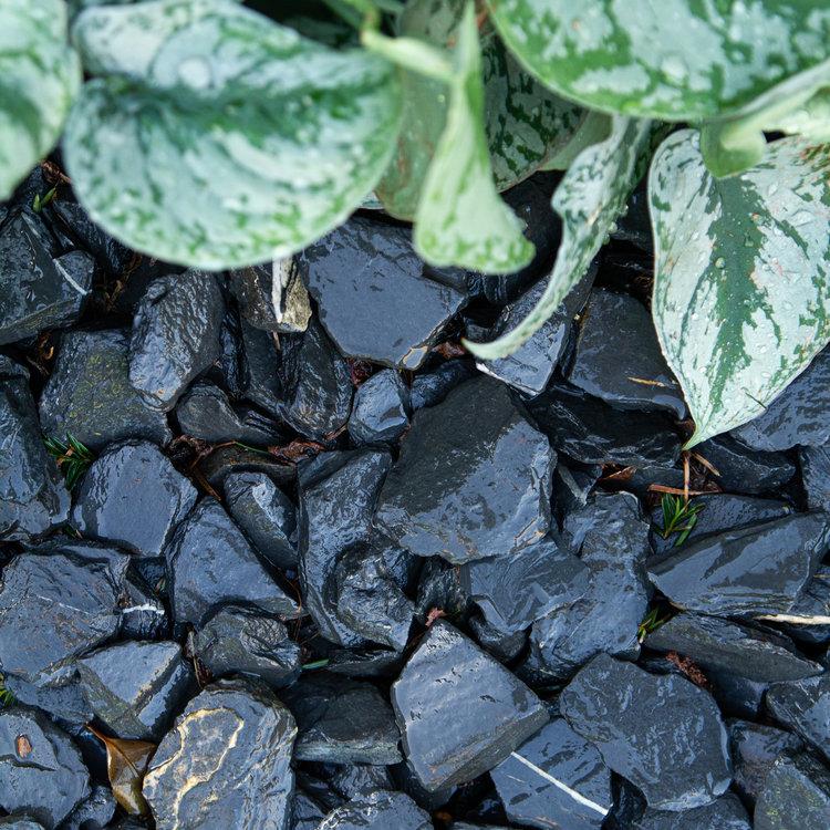 Eurocompost Garden Products Canadian Slate 30/60 Black Mini bag 500kg