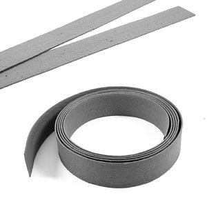 Ecolat recht 14 CM 2M grijs/zwart