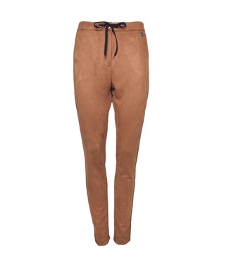 20 TO 20to broek suede-look 11115 camel