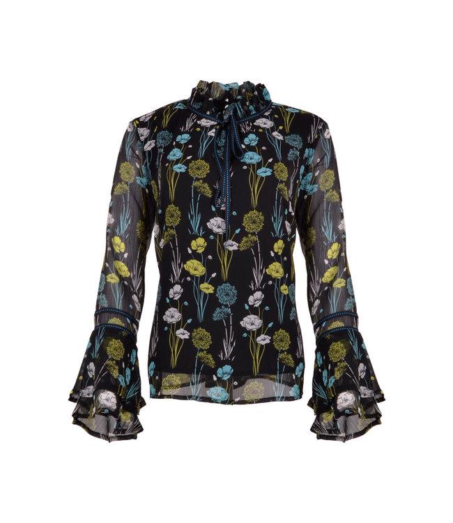 MAICAZZ Maicazz blouse NAHARA SP20.20.002 flower