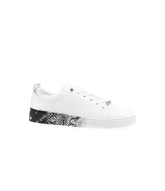 TED BAKER Ted baker sneaker RELINA-Quartz printed sole white 241440