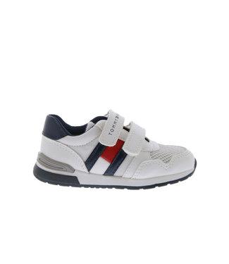 TOMMY HILFIGER Tommy Hilfiger Low Cut jongens sneaker 30723 White/Blue