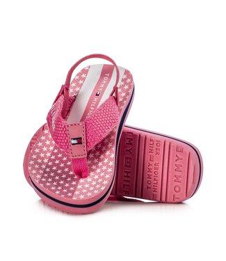 TOMMY HILFIGER Tommy Hilfiger Microstars Print slipper meisjes Pink T1A2-30664-0058302