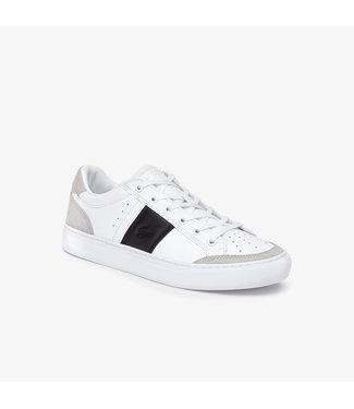 LACOSTE La Coste heren sneaker Courtline White/Black 7-38CMA0074147