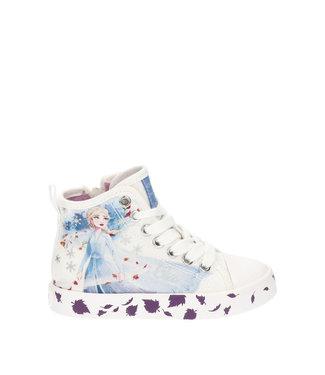 GEOX Geox Kids Frozen Elsa sneaker White/Multicolor J0204F