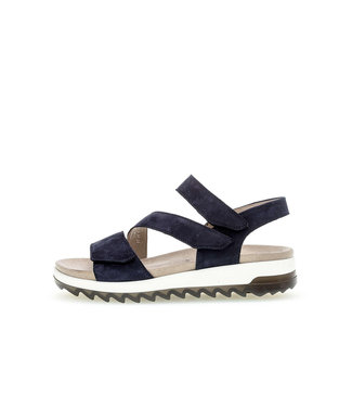 GABOR gabor sandaal optifit nubuck soft blue 46.742.36.