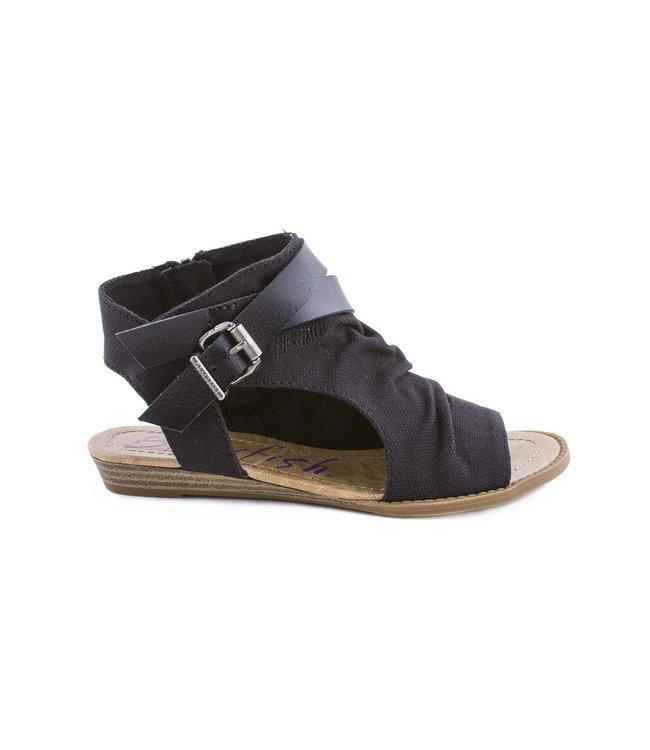 BLOWFISH MALIBU Blowfish Balla dames sandaal solid black rancher dyecut