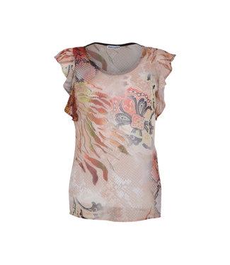 MAICAZZ Maicazz Okiki blouse animal sand SU20.20.007