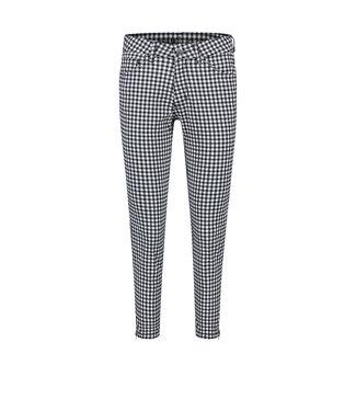 PARA MI para -mi   SS202.053026 lexie/ nautic check 301 navy-L26    pantalon blauw/ wit