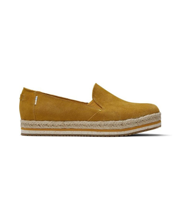 TOMS Toms Palma Amber Gold Suede 10015014 Instap