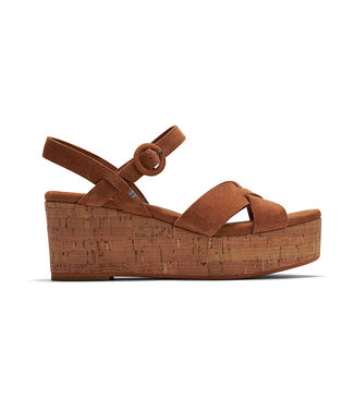 TOMS Toms Willow carmel brown suede 10015121