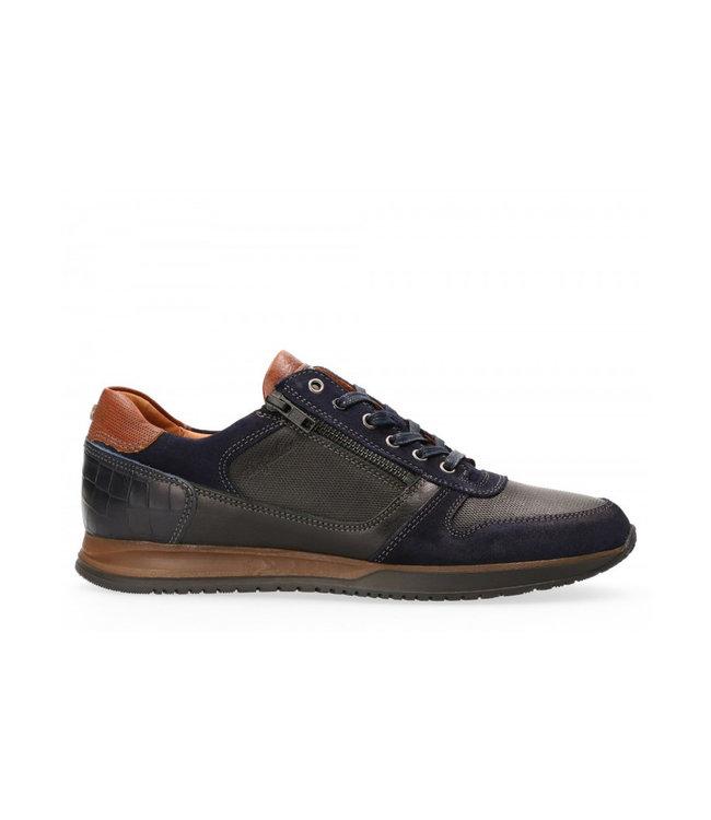 AUSTRALIAN Australian Footwear Browning Leather 15.1473.02 Black/Blue
